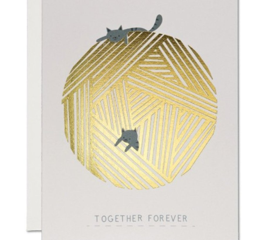 Together Forever Love Card