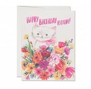 Smitten Kitten Birthday Card