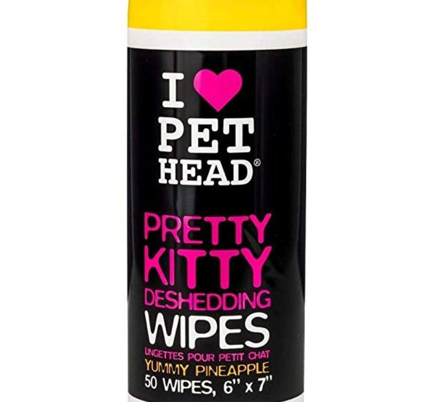 Pretty Kitty Deshedding Wipes