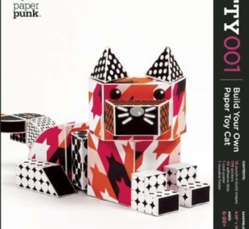 PaperPunk Coco Build Your Own Paper Cat