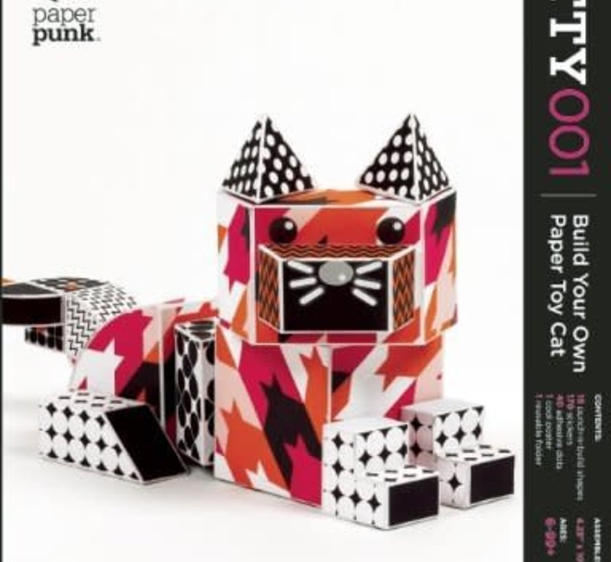 Coco Build Your Own Paper Cat