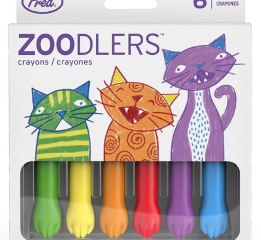 Seraphina Cat Paw Crayons