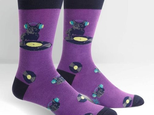 Youngson Guetta Cat Scratch Men's Socks