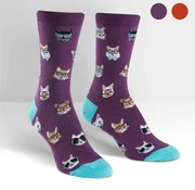 Youngson Mensa Smarty Cats Women's Socks