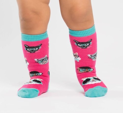 Youngson Mensa Smarty Cats Toddler's Socks