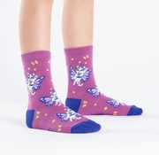 Youngson Mariah Catterfly Youth Crew Socks