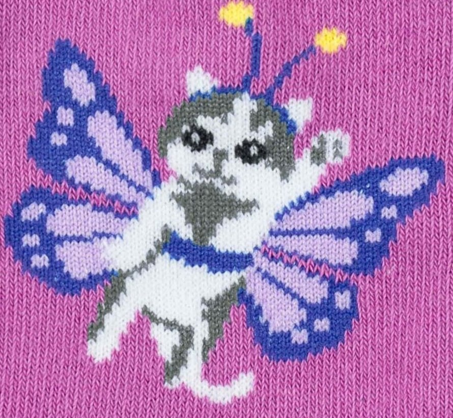 Mariah Catterfly Youth Crew Socks