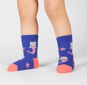 Youngson Purrmaid Toddler Crew Socks