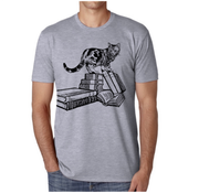 brunoandbetty Winston Books Cat Shirt