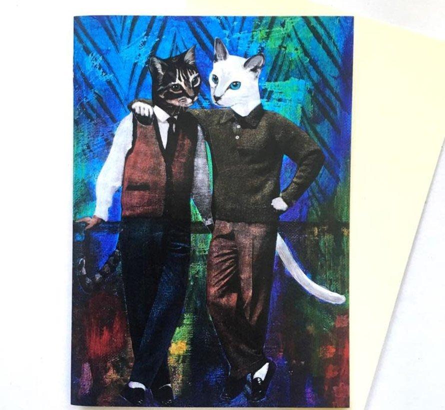 Bromance Buddy Card