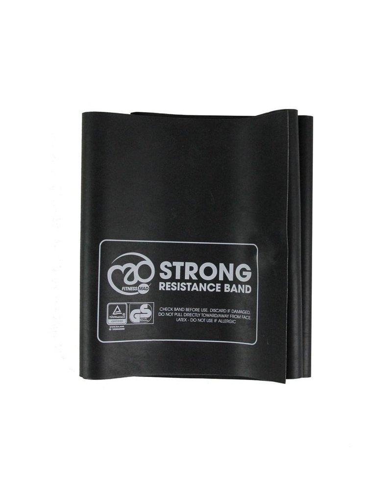 MAD Fitness Resistance Band 1.5m x 15cm & Guide