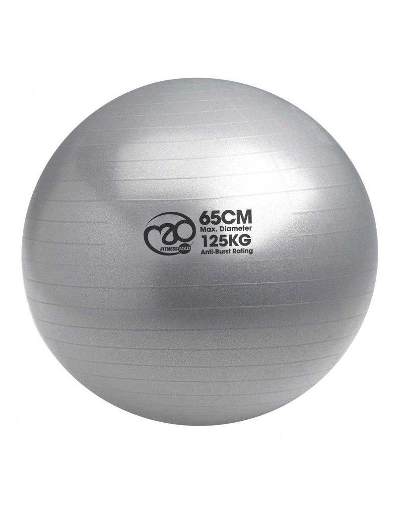 MAD Fitness 65cm Swiss Ball & Pump