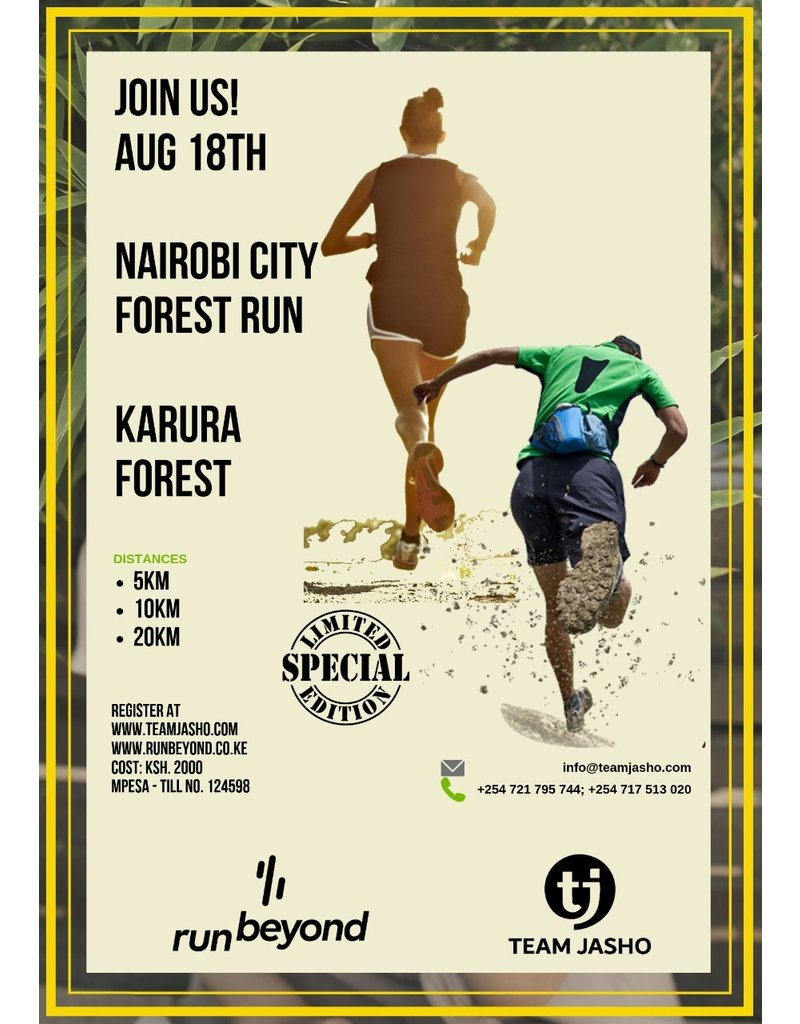 Nairobi City Forest Run