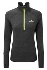 Ronhill Women's Stride Thermal L/S Zip Tee