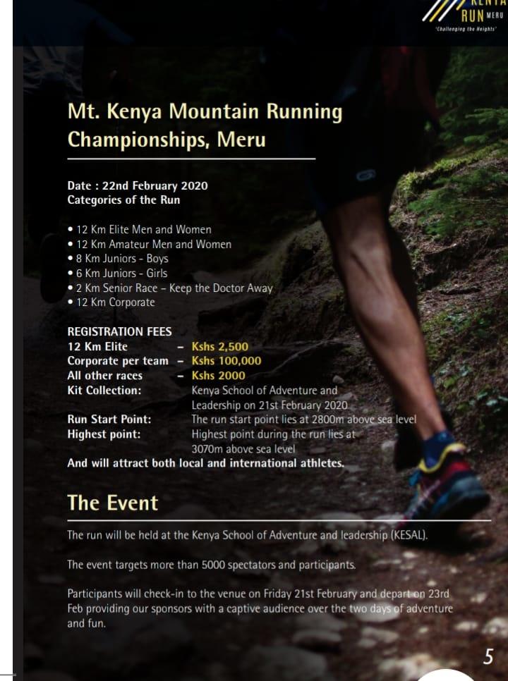 Mt. Kenya Mountain Running Championships