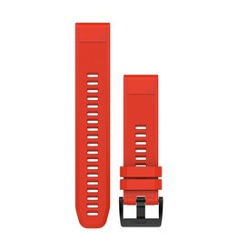 Garmin QuickFit 22 Flame Red  Silicone