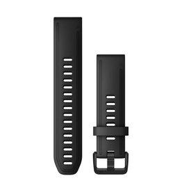 Garmin QuickFit 20 Watch Band Black Silicone L