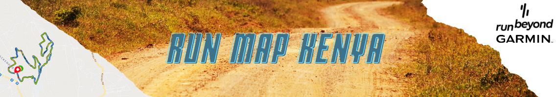 Run Map Kenya Banner