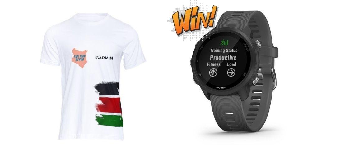 Run Map Kenya Rewards