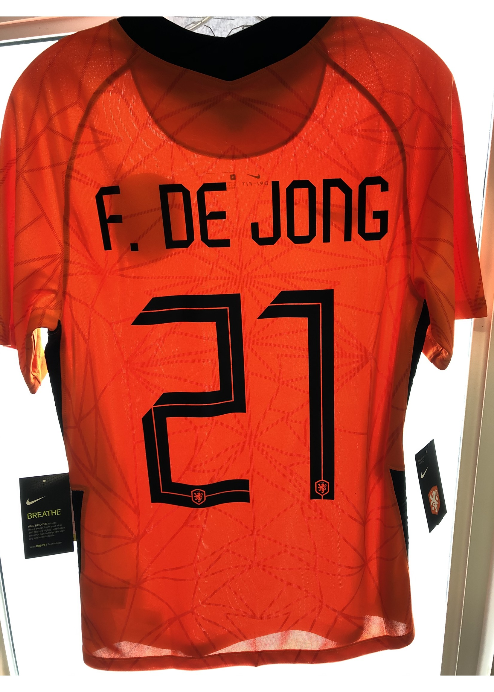 Player ID - Purchased Jersey Name & Number