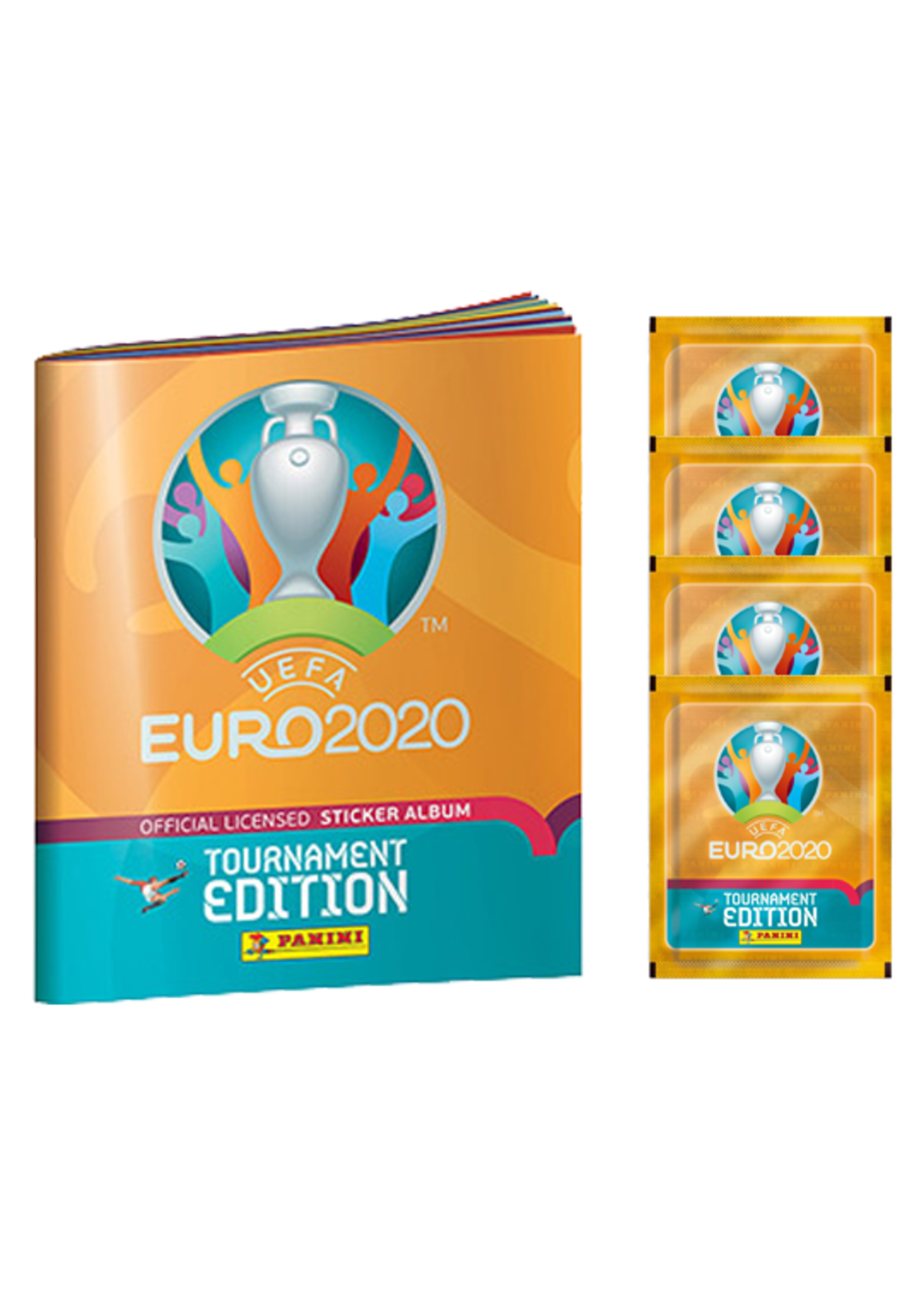 EURO 2020 STICKERS - STARTER PACK