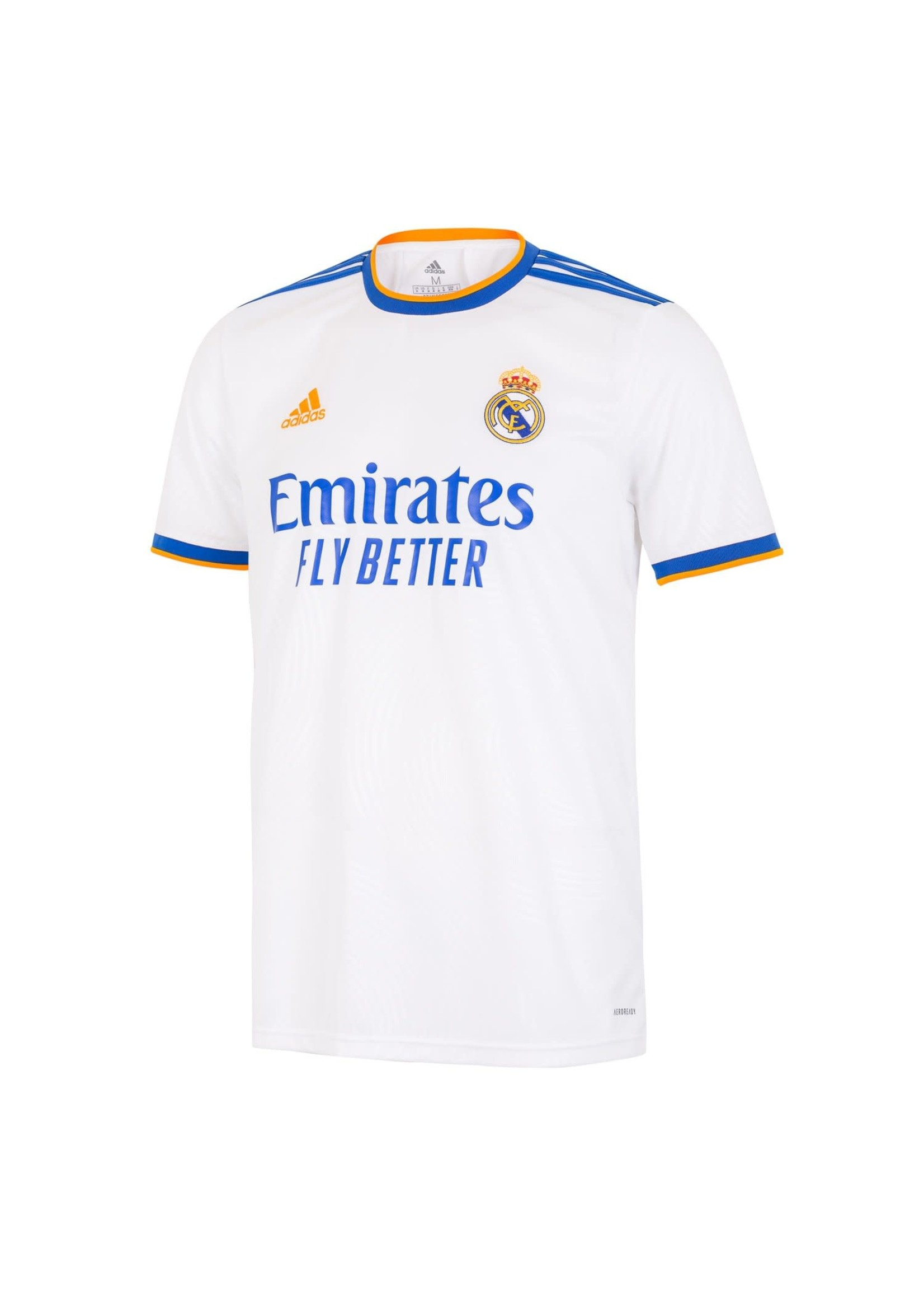 Adidas REAL MADRID HOME JERSEY 2021/22 - YOUTH