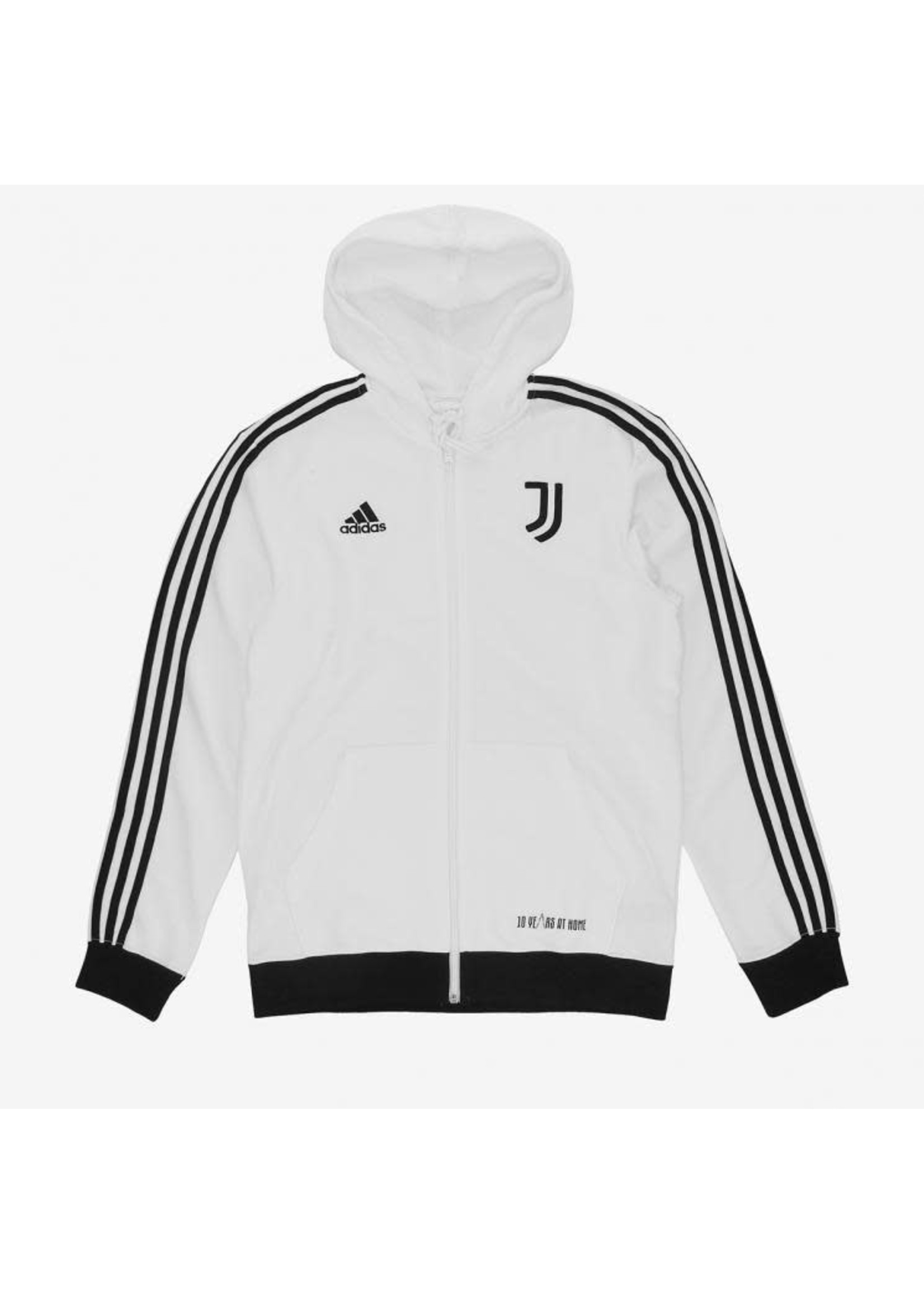 Adidas JUVENTUS 3-STRIPE FULL ZIP HOODIE 2021/22