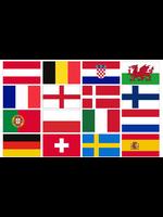 EURO 2020 CAR WINDOW FLAGS