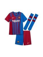 Nike FC BARCELONA CHILDREN'S HOME TEAM KIT 2021/22
