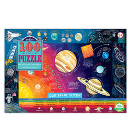 eeBoo Our Solar System - 100 Piece Puzzle