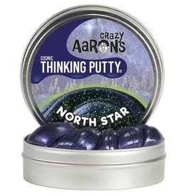 Crazy Aaron's Putty World North Star Comic Glow 4'' Tin w/Charger
