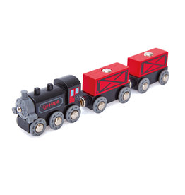 Hape Intl Steam Era Freight Train