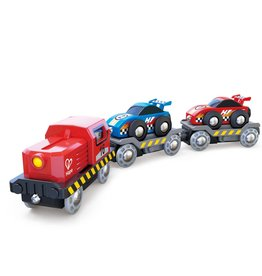 Hape Intl Race Car Transporter