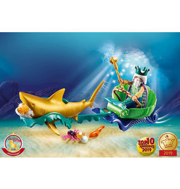 Playmobil King of the Sea with Shark