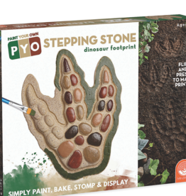 MindWare Dinosaur Footprint: Paint Your Own Stone