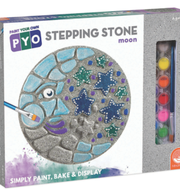 MindWare Moon: Paint Your Own Stepping Stone