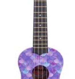 Amati's Fine Instruments Purple Mermaid Ukulele