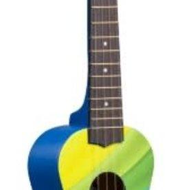 Amahi's Fine Instruments Rainbow Wave Ukulele