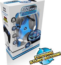 Mindscope Sky Lighter Glow Disc Drone: Blue
