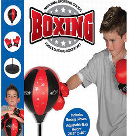 National Sporting Goods Boxing Set: Free Standing