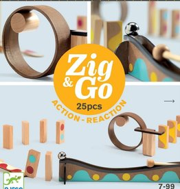 Djeco Zig&Go Construction Set: 25p