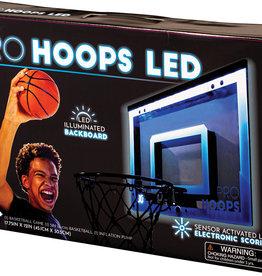 Franklin Sports Pro Hoops Over-The-Door Basketball Set - LED