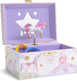 JewelKeeper Party Unicorn Musical Jewelry Box
