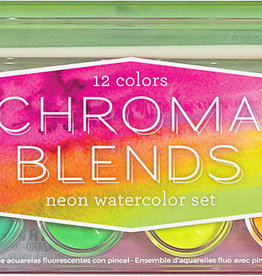 OOLY Neon Watercolor Set: Chroma Beads