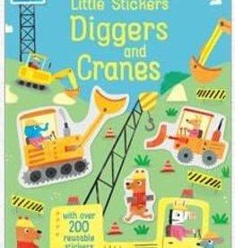 EDC Publishing (Usborne / Kane Miller) Diggers & Cranes: Little Sticker
