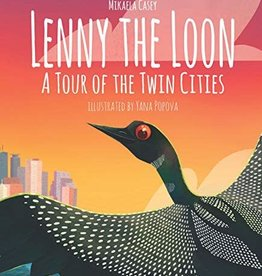 Wise ink Lenny the Loon