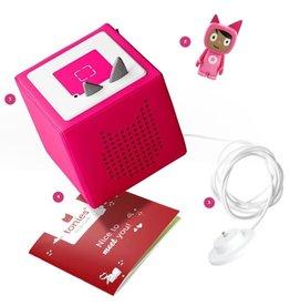 Tonies Pink: Toniebox Starter Set (includes creative tonie)