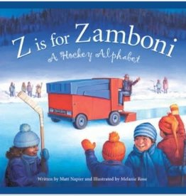 Sleeping Bear Press Z is for Zamboni: A Hockey Alphabet