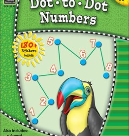 TCR Dot to Dot Numbers Grd K: Ready-Set-Learn
