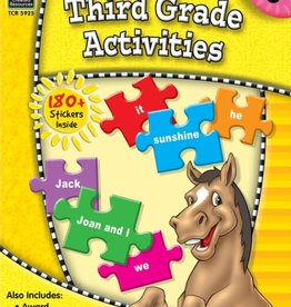 TCR 3rd Grade Activities: Ready-Set-Learn
